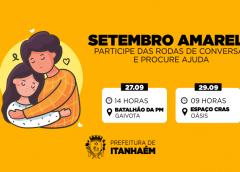 CRAS de Itanhaém realiza rodas de conversa sobre prevenção ao suicídio